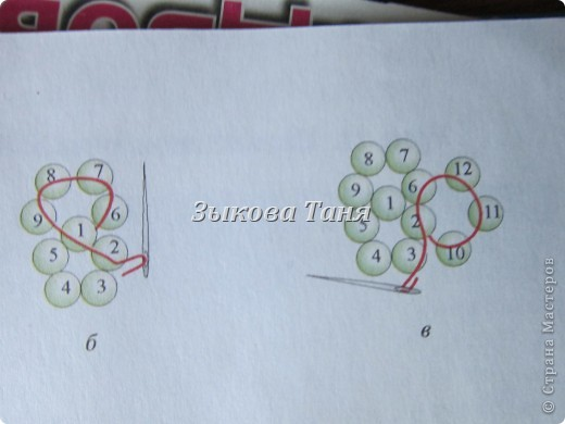 Мастер-класс Бисероплетение Плетение шариков из бисера Бисер фото 5.