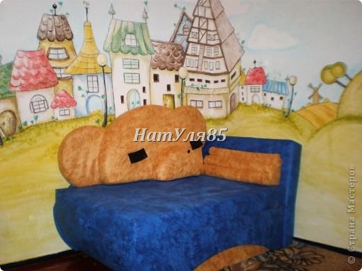 кухня,обои под покраску,по швам потолочный  багет,перекрашено водоэмульсионной краской с добавлением пегмента фото 16