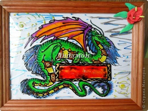 Вот так в целом выглядит дракон) фото 1
