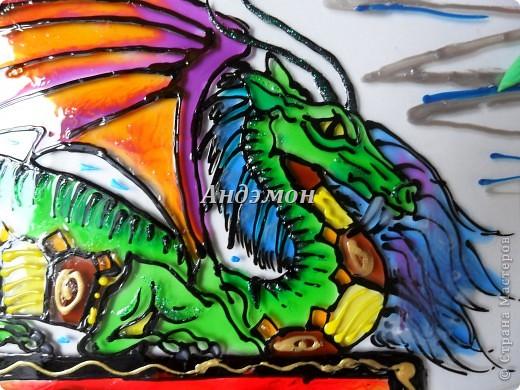 Вот так в целом выглядит дракон) фото 2