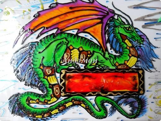 Вот так в целом выглядит дракон) фото 5