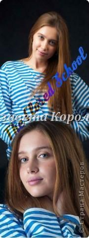 """Сегодня будем делать вот такой фан-арт.Для примера я взяла Луизу-Габриэллу Бровину,актрису сериала """"Закрытая Школа"""".Ну что же,начнём. фото 28"""