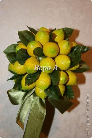 Очередное европейское дерево счастья-топиарий. Сделался в подарок замечательной, отзывчивой женщине на День рождения. фото 2