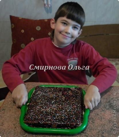 Тортик очень прост в приготовлении... Его может сделать и 3-х летний ребёнок под руководством родителя. фото 1
