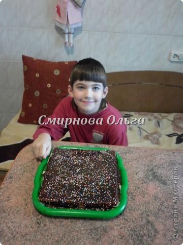 Тортик очень прост в приготовлении... Его может сделать и 3-х летний ребёнок под руководством родителя. фото 22