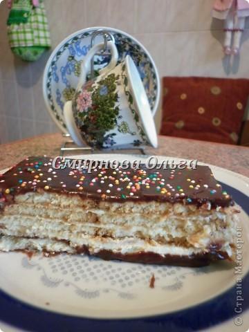 Тортик очень прост в приготовлении... Его может сделать и 3-х летний ребёнок под руководством родителя. фото 23