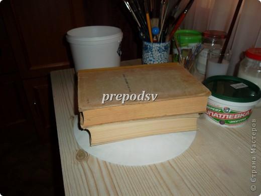 Решила показать как я делаю тарелки из газет.Это последняя тарелка, она для бело-голубой кухни. А теперь обо всем подробно. фото 7