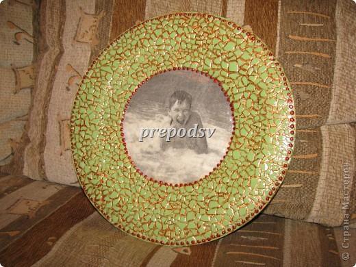 Решила показать как я делаю тарелки из газет.Это последняя тарелка, она для бело-голубой кухни. А теперь обо всем подробно. фото 20