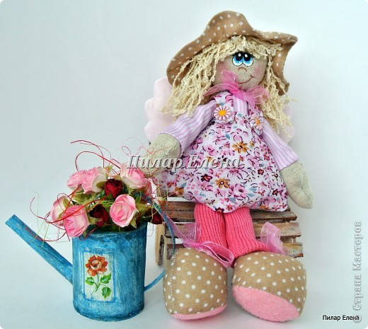 Кукла Варя и сельские феечки фото 9