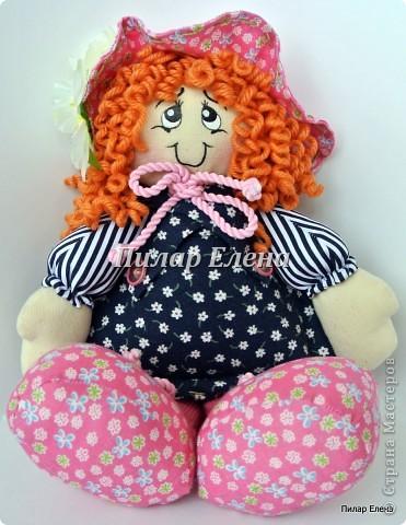 Кукла Варя и сельские феечки фото 4