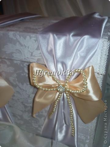 Свадебный сундучок (коробка) для денег фото 4