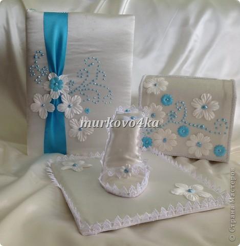 Добрый день, дорогая СМ! Это мой 2ой свадебный набор, выполнила за 4дня.  фото 4