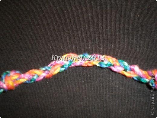 фенечка из 7 цветов фото 9