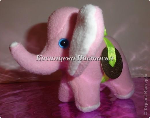 Здравствуйте, захотелось показать моих милых слоников, которые были сделаны на 8 марта) на спинке привязанная ленточкой монетка)  фото 1