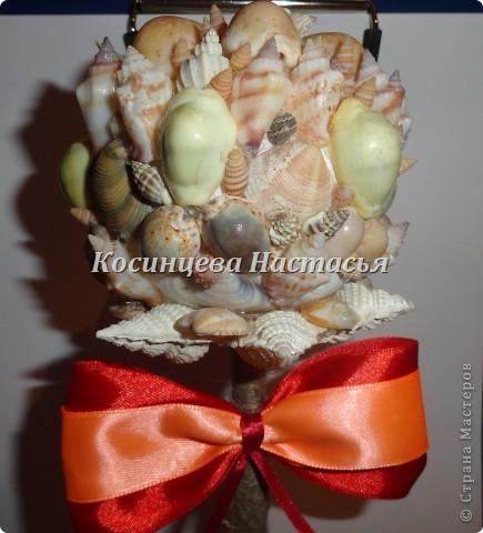 здравствуйте,хочется показать вам мой топиарий из ракушек)надеюсь вам понравится)) фото 3