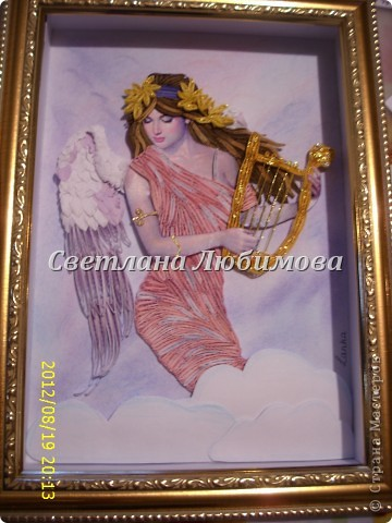 Добрый вечер! Сегодня я к вам с ангелом в виде девушки.  фото 1