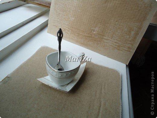 Доброго времени суток, жители Страны мастеров! Родилось вот такое кофейное панно в подарок на День рождения... фото 3