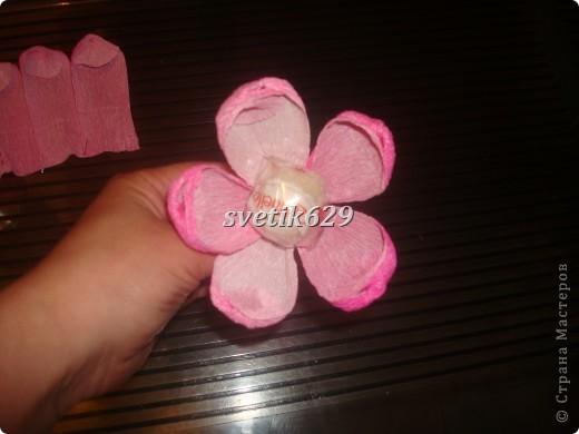 Этот букетик я сделала для дочки на 1 сентября. фото 9