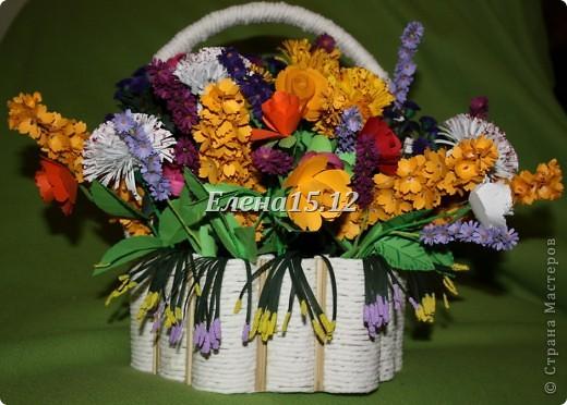 Корзины для цветов плетеные - 8b