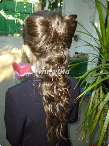 Причёски девочкам на 1 сентября с картинками