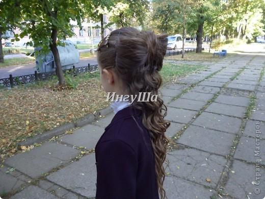 Причёски девочкам на 1 сентября с картинками 3