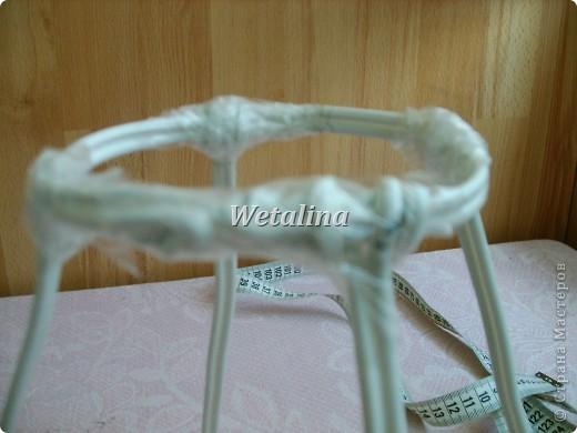 Куклы Мастер-класс Шитьё Грелка на чайник и МК каркаса нижней юбки Проволока Ткань фото 8