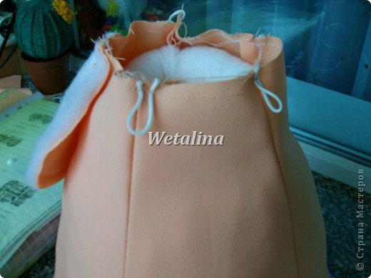 Куклы Мастер-класс Шитьё Грелка на чайник и МК каркаса нижней юбки Проволока Ткань фото 21