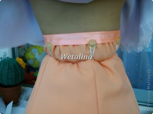 Куклы Мастер-класс Шитьё Грелка на чайник и МК каркаса нижней юбки Проволока Ткань фото 25