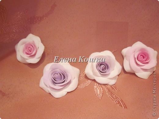 Свадебный набор для подруги и цветы в прическу. фото 6