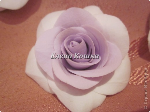 Свадебный набор для подруги и цветы в прическу. фото 7