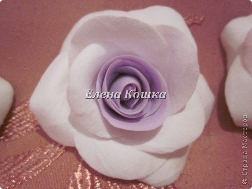 Свадебный набор для подруги и цветы в прическу. фото 8