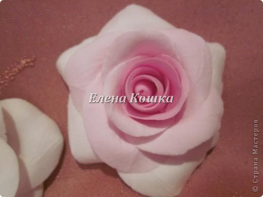 Свадебный набор для подруги и цветы в прическу. фото 10