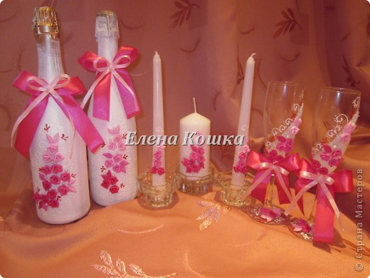 Свадебный набор для подруги и цветы в прическу.