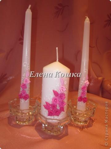 Свадебный набор для подруги и цветы в прическу. фото 3