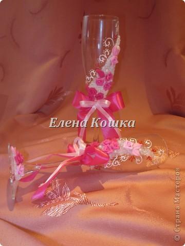 Свадебный набор для подруги и цветы в прическу. фото 4