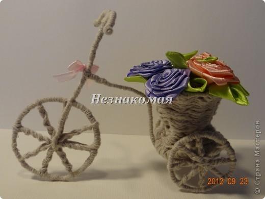 Как сделать велосипед своими руками из ниток