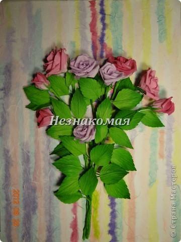 Вот еще одно задание с курсов Ольга К , это ее работа https://stranamasterov.ru/node/361410 . Вот так увидела эти розы я. Это окончательный вариант. фото 7