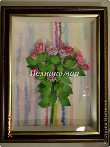 Вот еще одно задание с курсов Ольга К , это ее работа https://stranamasterov.ru/node/361410 . Вот так увидела эти розы я. Это окончательный вариант. фото 8