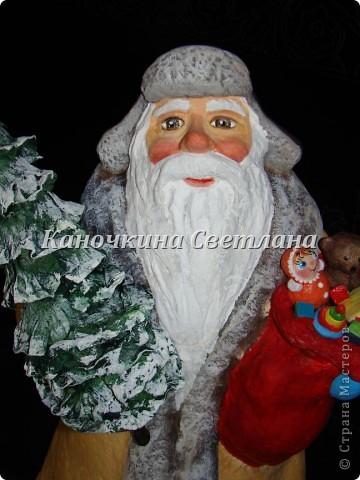 """Очень хотелось сделать """"деда Мороза из нашего детства""""  фото 4"""
