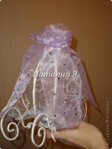 Хотела порадовать подругу, сделала декоративную карету)))  фото 2