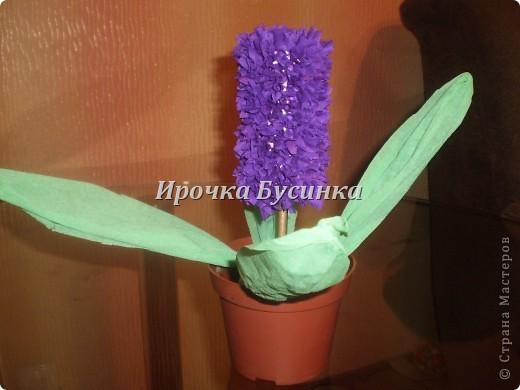 Вот такой цветочек сделали с дочкой :)