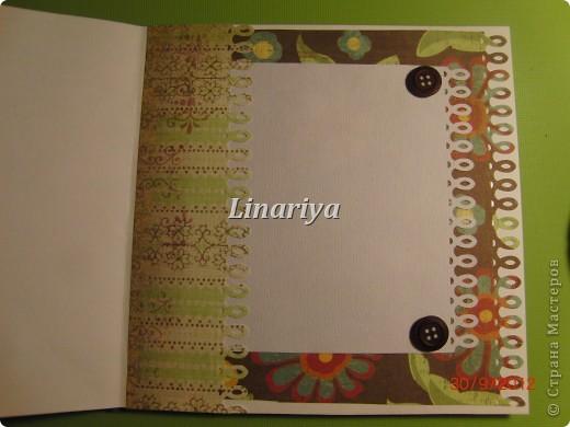На этот раз я постаралась сделать открытку более красочной и насыщенной, благодаря разнообразию цветочного оформления. фото 7