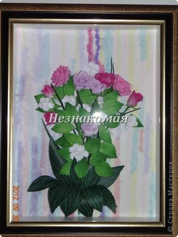 Вот еще одно задание с курсов Ольга К , это ее работа https://stranamasterov.ru/node/361410 . Вот так увидела эти розы я. Это окончательный вариант. фото 9