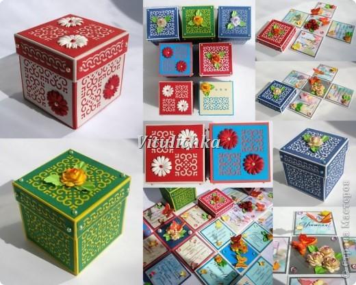 Поздравительные открытки-коробочки для учителей. Размер 7х7х7 см Надписи Марины Абрамовой http://marina-abramova.blogspot.com/ Розы по МК http://asti-n.ya.ru/replies.xml?item_no=184 фото 1