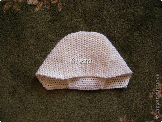 Мастер-класс День рождения Вязание крючком Вяжем крючком шапочку для новорожденного мальчика МК Пряжа фото 13