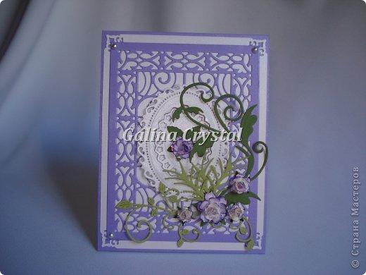 Свадебная поздравительная открытка. Внутри кармашек для денежного подарка и ажурный вкладыш для поздравления. Дизайнерская бумага, вырубка, цветы, полужемчуг. фото 5