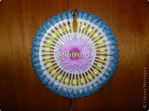 Декоративный круговой веер