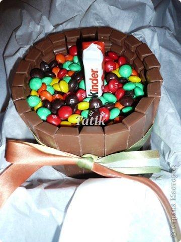 """Сегодня у подружки день рождения!:) сладкий день!) делали вчера вот такой """"тортик"""")  фото 3"""