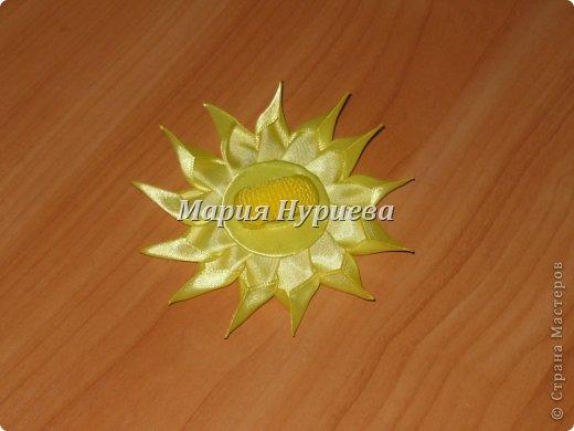 Розы-брошки-канзаши. фото 10