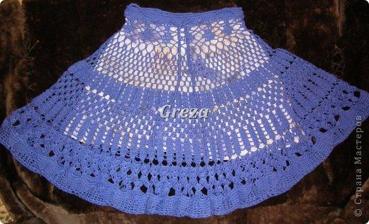 Очередная юбка, связанная крючком. На сегодняшний день, последняя. Думаю, пора передохнуть от больших проектов)))) и заняться чем-нибудь попроще фото 2